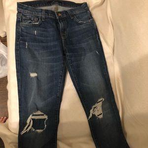 J Brand Boyfriend cut jeans